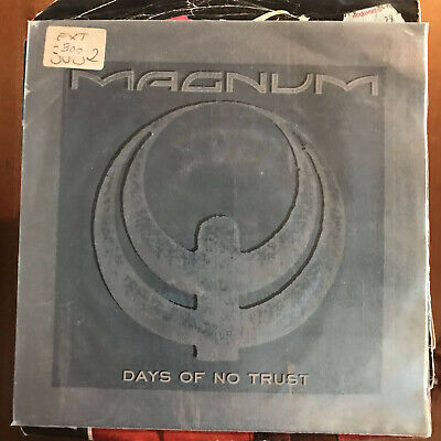 Magnum - Days Of No Trust /Maybe Tonight - Single Polydor Spain 1988