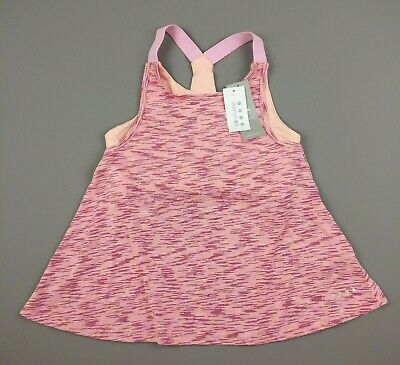 Matalan 2 in 1 Souluxe Pink Exercise Gym Workout Top Age 12-13 - NEW