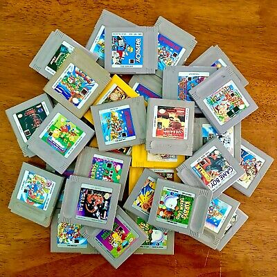 Nintendo Original Gameboy DMG Games ~ Carts Only ~ Great Selection!!