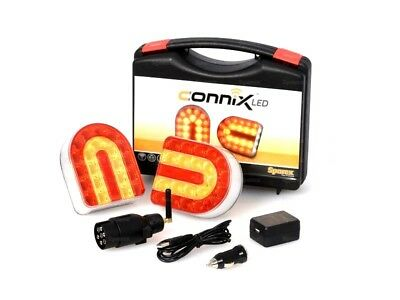 Connix Lighting Set  Wireless With Magnetic Fitting For Tractor Trailer Forestry