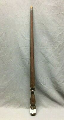 Antique Turned Wood Spindle Baluster Cherry Hardwood Staircase Vtg 382-20B