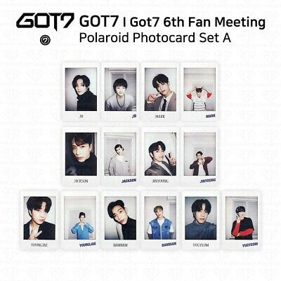 GOT7 I GOT7 6th Fan Meeting Once Upon A Time Polaroid Photocard Set A KPOP K-POP