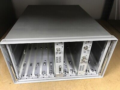 HP 4142B Main Frame ,Module DC Source /Montitor Hewlett Packard ID-AWW-7-4-002