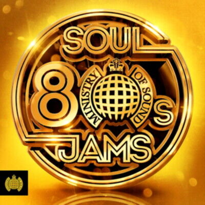 80's SOUL JAMS * 60 Classic SOUL Tracks * New 3-CD Boxset * All Original Hits