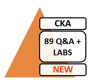 2020 Updated Certified Kubernetes Administrator CKA Exam 89 Q&A + LABS, PDF ONLY