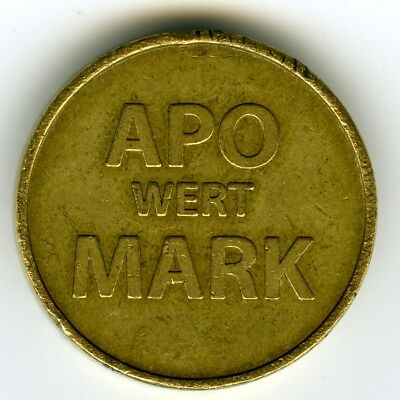 # Germany ☆ Pharmacy Token • Apo Wert Mark, Guten Tag ☆ Apotheke Notmunze ☆C3941