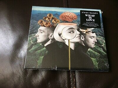 Clean Bandit. What Is Love Deluxe Edition Cd Album Digipak New And Sealed.  I1