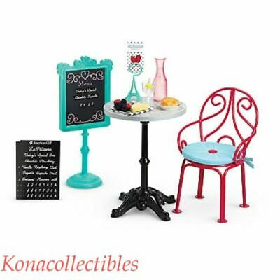 American Girl Grace Thomas Bistro Set for Doll Adorable! LAST ONE NRFB