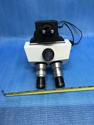 Bausch&Lomb Microscope W/ 2 Of 10x Wide Field , Zoom 200M  1-7x ID-AWW-7-2-1-001