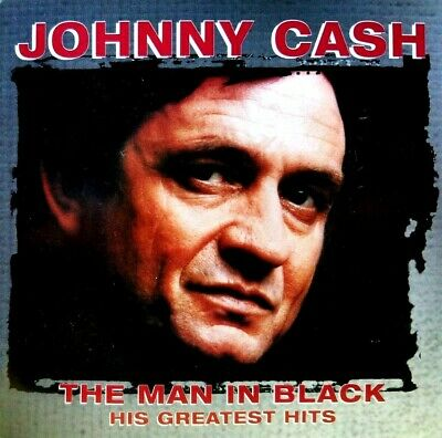 Johnny Cash - The Man in Black: His Greatest Hits 1998 2CD SET EXCELLENT / MINT
