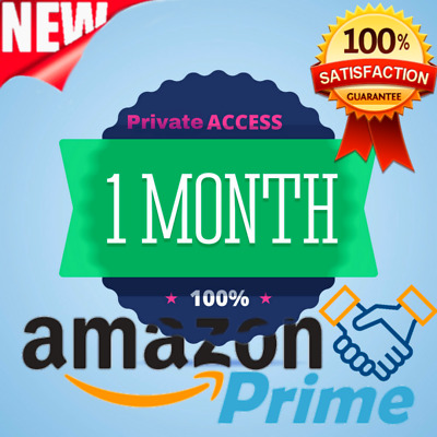 1 Month Amazon prime Video & Music ✅ USA Account ✅ New Account ✅ FAST DELIVERY ✅