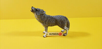 Schleich Animal figure HOWLING WOLF Animal Toy Figure 14626 Retired