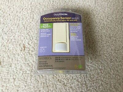 Lutron Occupancy Sensor Switch MAESTRO MS-OPS5MR-WH BRAND NEW