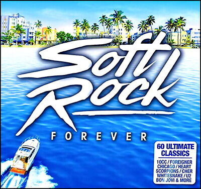60 Greatest SOFT ROCK Hits * 70's & 80's * New 3-CD Boxset * All Original Hits