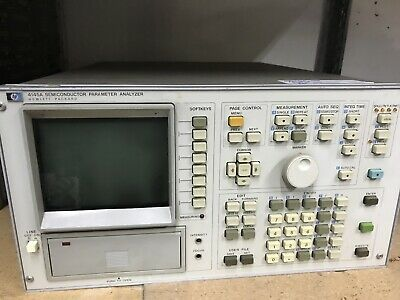 HP 4145A Semiconductor Parameter Analyzer Hewlett Packard ID-AWW-AWW-9-3-11