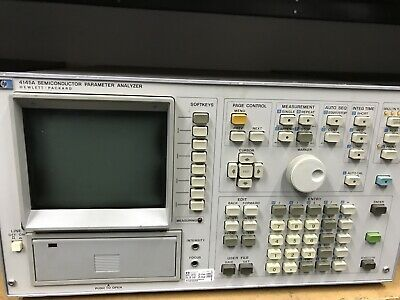 HP 4145A Semiconductor Parameter Analyzer Hewlett Packard ID-AWW-AWW-10-3-2