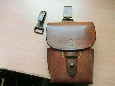 Relics Collectibles WW2 Japanese Map Case Pouch Bag Genuine Leather