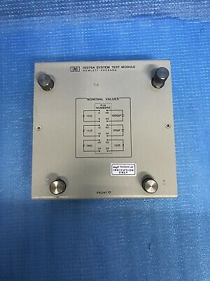Hewlett Packard HP 16076A System Test Module AWW-9-2-8-1-001