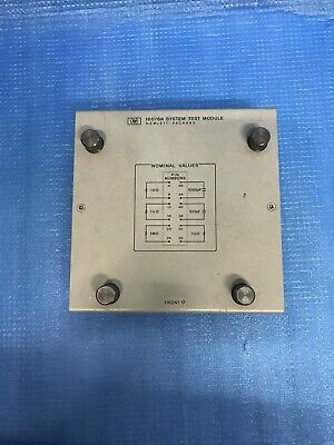 Hewlett Packard HP 16076A System Test Module AWW-9-2-8-1-006