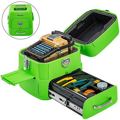 Ai-8 Fiber Fusion Splicer Kits Fiber Optic Welding Splicing Machine Automatic