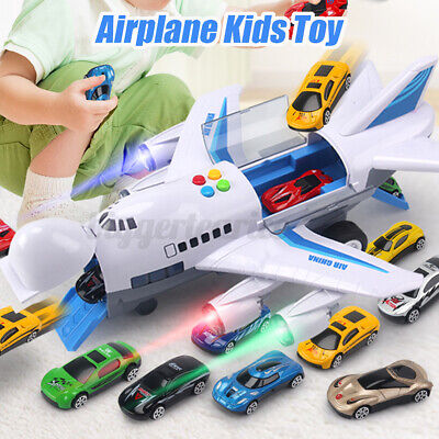 Aircraft Airplane Airliner Car Vehicles Kids Toy Gift Sound Music Light  . X