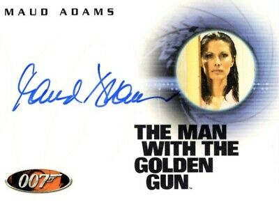 James Bond, The Complete 2007, Autograph Card, A55 Maud Adams as Andrea Anders