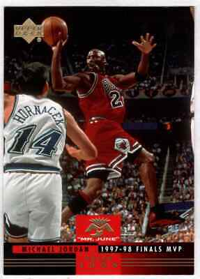 Michael Jordan 2008-09 Upper Deck Lineage Mr. June 1998 Finals MVP #MJ-12