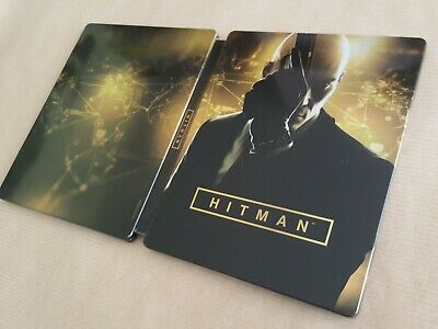 Hitman Definitive Edition Steelbook ONLY PS4/Xbox One * No Game Disc *