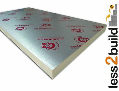 Celotex/Kingspan/Recticel Insulation 1200x2400 (thickness 25-100mm)