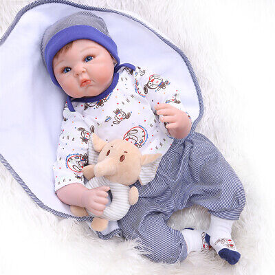 Pinky 22''55cm Real Looking Reborn Baby Doll Lifelike Baby Doll Toy