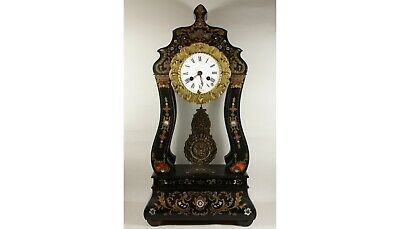Antique French Mantle Clock,  Signed JAPY-FRÈRES MEDAILLE D'OR - 1850c