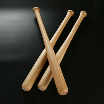 "Fun Wooden Baseball Bat Heavy Duty Outdoor Sports Softball Bat 62cm 24"" 1 Pack"