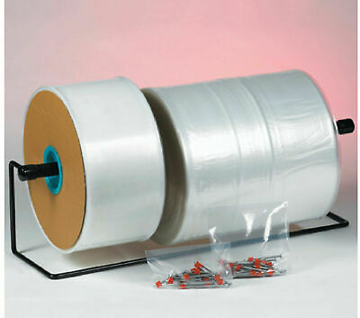 """9"""" x 2900' - 1.5 Mil Poly Tubing Clear Bags Roll (Item # 1500200030003200)"""
