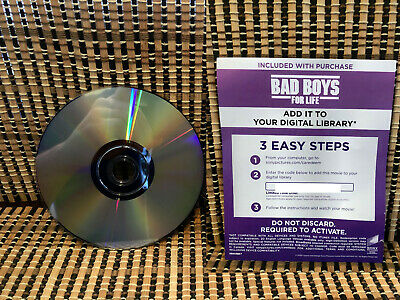 Bad Boys For Life (Google Play Digital Code+DVD,2020)Sony Pictures.Part 3/WSmith