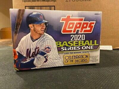 2020 TOPPS  Baseball  series one - huge Factory sealed 24 count retail box JUDGE