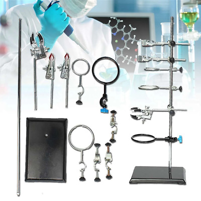 Laboratory Stands Support and Laboratory Clamp Lab Clips Flask Clamp Condenser C