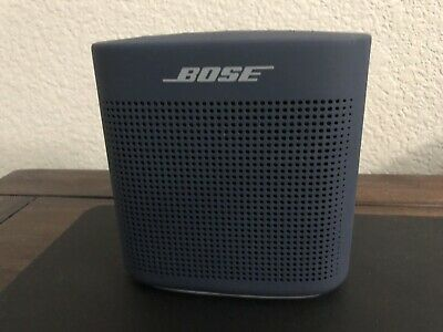 Bose Soundlink Color Ii Portable Speaker Midnight Blue Bluetooth 1-Year Warranty
