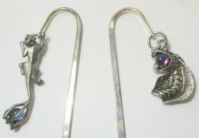 Choice of Gothic Charm Bookmarks With Orbs, See Selection