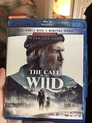The Call Of The Wild Blu-ray & DVD  2020 (No Digital) free shipping