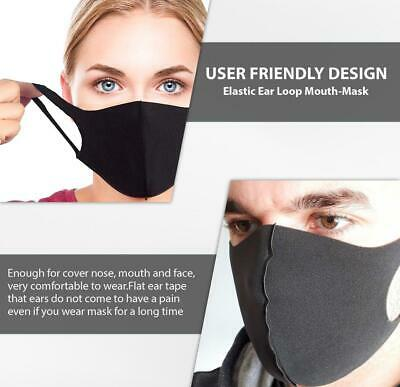 UK Breathable Washable Face Mouth Cover Protective Anti Haze Face Cover UK