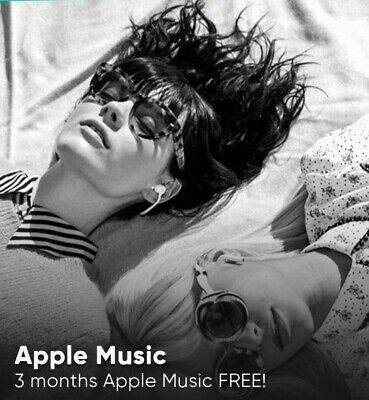 Apple iTunes voucher code 3 Months Apple Music Trial Account