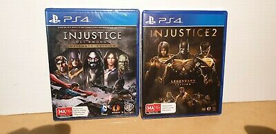 Injustice: Gods Among Us Ultimate Edition + Injustice 2 legendary Edition new