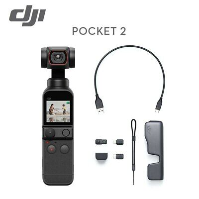 New Feiyu Pocket Camera 3-Axis 4K HD Handheld Gimbal Stabilizer 120° Wide Angle