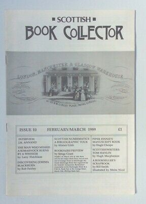 Scottish Book Collector magazine Issue 10 February/March 1989