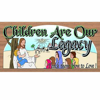 Spiritual Wood Sign - Children are Our Legacy GS 1107-GiggleSticks
