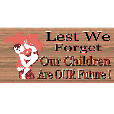 Family Wood Signs - Children Are Our Future-GS 319 - Wood Signs-GiggleSticks