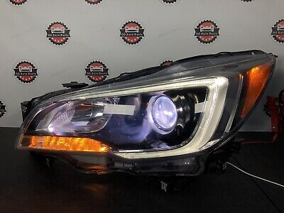 2015-2017 Subaru Legacy Outback LH Left-Driver side XENON LED Headlight OEM