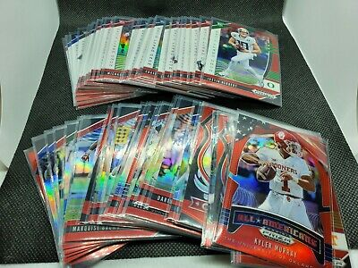 2020 Prizm Draft Picks Red 1-170 Vets & Rookies Pick Your Card Complete Your Set