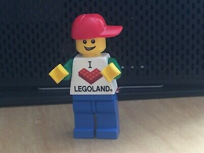 Lego 2x Torso I Love Legoland Pattern NEW!!!