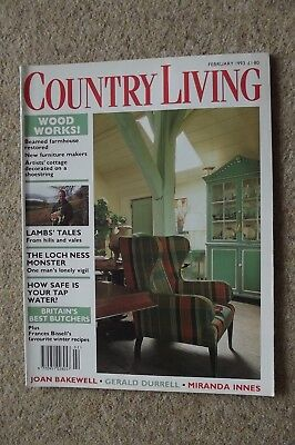 Country Living Feb 93 - Gerald Durrell, Shepherds, Chios, Himalayas.